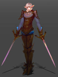 Elf concept by ShadowForever