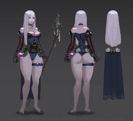 Character concept by ShadowForever