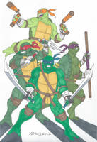 Heroes in a Half-Shell! by RobertMacQuarrie1