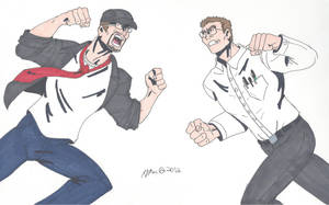 The Nostalgia Critic vs The Angry Videogame Nerd by RobertMacQuarrie1