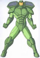 OCD- Tank Man, the Armored Superhero by RobertMacQuarrie1