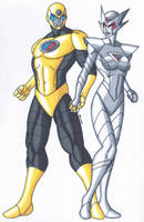 OCD- Goldbuster and Silver Striker- by RobertMacQuarrie1