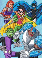 Teen Titans Go! by RobertMacQuarrie1
