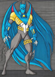 Knightfall Batman by RobertMacQuarrie1