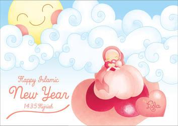 Happy Islamic New Year by sweetterara