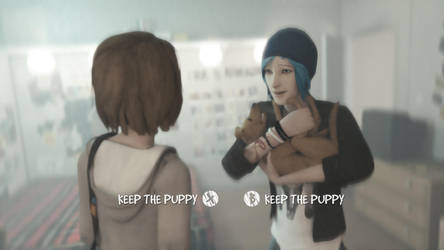 Always Keep The Puppy by blues-man
