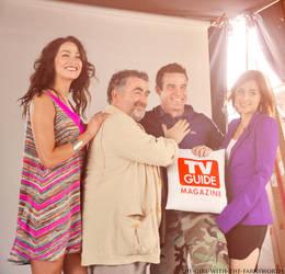 Warehouse 13 Cast for TV Guide Magazine by bubblenubbins