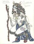Goddess Selene by EclipseYunaTiger
