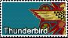 Thunderbird Stamp by Pavasara-Dvesma