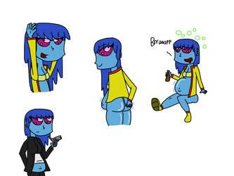 Elyis Drawings by RM007returns