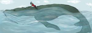 Whale Riding by GeoffryHawk