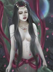 Vampire Girl by katzmiao
