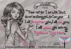 Why U shouldn't fear Ur Fear by oooangelicartooo
