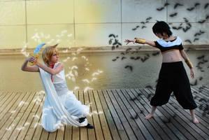 Magi - Battle by AriB-Rabbit
