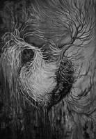 Inked heart by transe