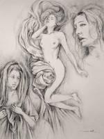 Study - La tristesse by transe