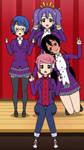 The Gemflash team (seasons 2) by Ruby2488