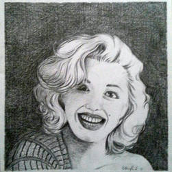 Smiling Marilyn by Z-any