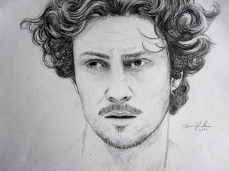 Aaron Taylor-Johnson by Z-any