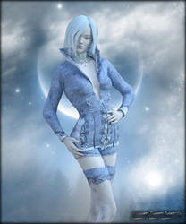 GiftArt: Ice Magican Yen-Shi by Andecaya