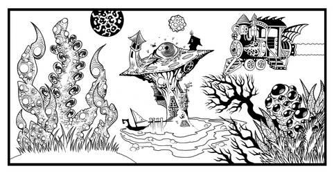 Bunyip Swamp by Tillinghast23
