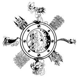 Anima Mundi 5 by Tillinghast23