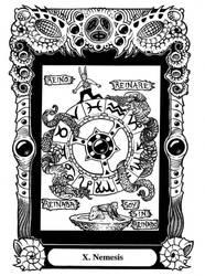 Atu X: Nemesis by Tillinghast23