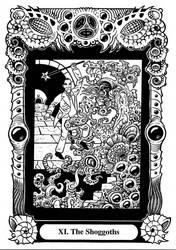 Atu XI: The Shoggoths by Tillinghast23