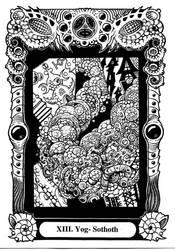 Atu XIII: Yog-Sothoth by Tillinghast23