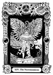 Atu XIV: The Necronomicon by Tillinghast23