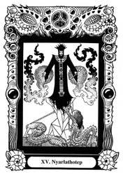 Atu XV: Nyarlathotep by Tillinghast23