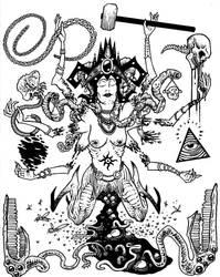 Queen Discordia by Tillinghast23