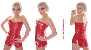 Red PVC by agnadeviphotographer