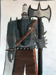 Fairy Tail OCs: Super Mutant Army. Guard by TitanXecutor