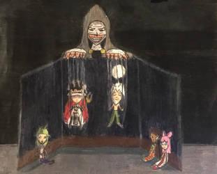 Fairy Tail OCs: Uzaron the Puppet Master by TitanXecutor