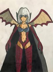 Fairy Tail OCs: Amanda Strauss. Senso Form by TitanXecutor