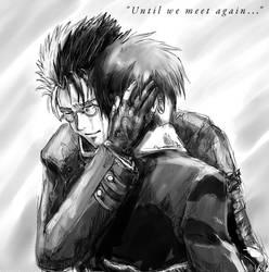 Until We Meet Again :BW: by JereduLevenin