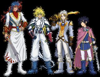 Crossover: Tales of Destiny x Tales of Zestiria by JereduLevenin
