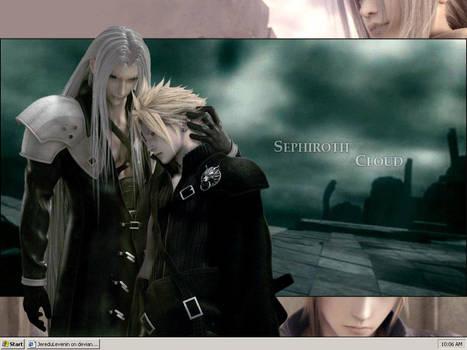 SephirothCloudDesktop by JereduLevenin