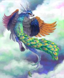 Peafowl Zal by zarry