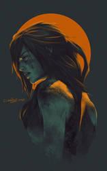 Shadow of The Tomb Raider Fanart by DebbyandArt