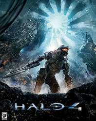 Possible Halo 4 Cover Art? by Copeydude101