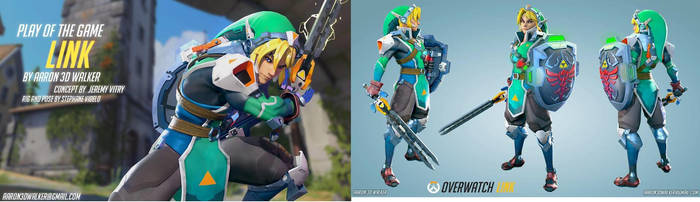 Overwatch Link concept by Copeydude101