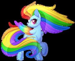 Rainbow Power Dash by Scarlet-Spectrum