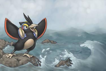 Stormy Seas by fuzzball288