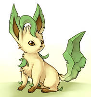 Leafeon by fuzzball288