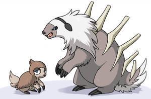 Ground Sloths by fuzzball288