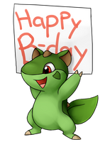 Scurley Birthday by fuzzball288