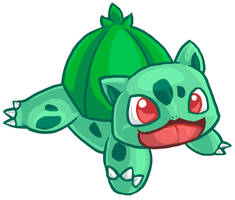 Bulbasaur by fuzzball288