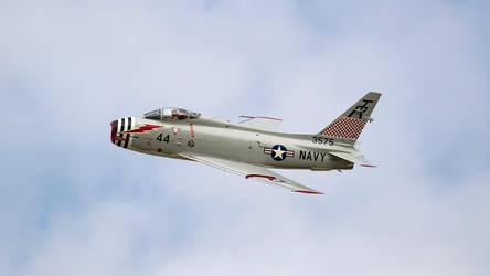 North American FJ-4B 'Fury' by arejaye